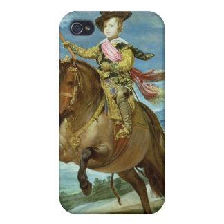 Príncipe Balthasar Carlos a caballo, c.1635-36 iPhone 4/4S Funda