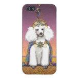 Príncipe blanco Oriental Style del caniche iPhone 5 Cárcasa