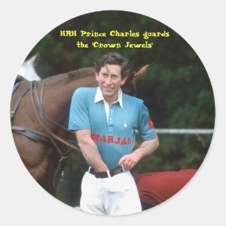 Príncipe Charles de HRH guarda las 'joyas de la Pegatina Redonda