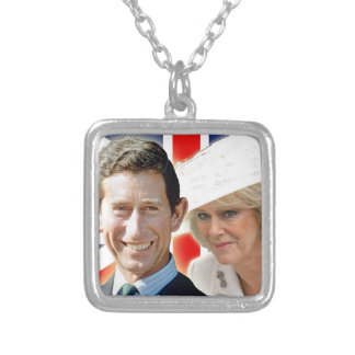 Príncipe Charles de HRH y duquesa de HRH de Colgante Cuadrado