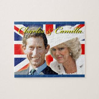 Príncipe Charles de HRH y duquesa de HRH de Puzzles Con Fotos