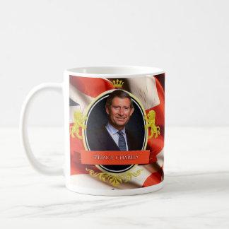 Príncipe Charles Historical Mug Taza