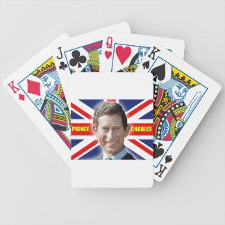 ¡Príncipe Charles Stunning de HRH! Barajas De Cartas
