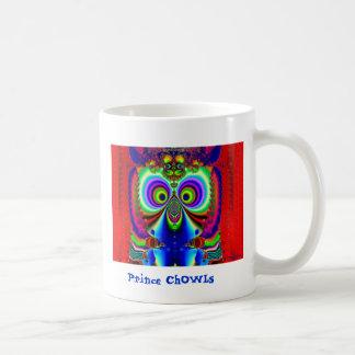 Príncipe ChOWLs Taza Clásica