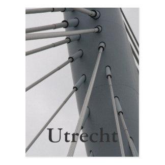 Príncipe Claus Bridge, Utrecht Tarjeta Postal