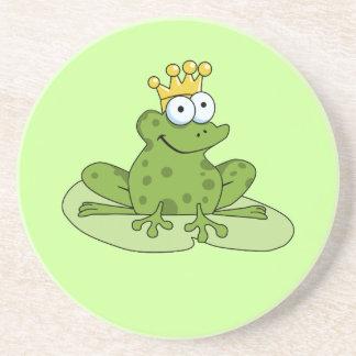 Príncipe Coaster de la rana Posavasos Manualidades