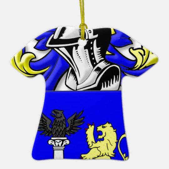 Principe Coat of Arms Ceramic Ornament