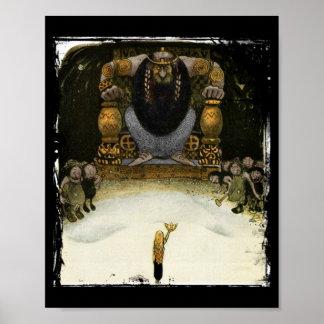 Príncipe con el rey del duende póster