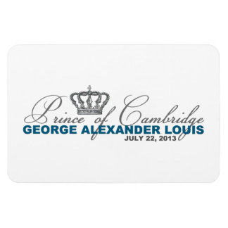 Príncipe de Cambridge: George Alexander Louis Imán