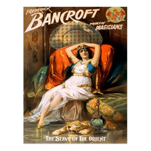 Príncipe de Frederick Bancroft de magos Postales