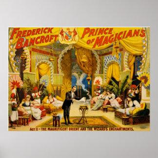 Príncipe de Frederick Bancroft de magos Póster