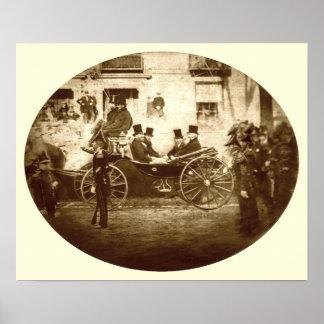 Príncipe de Gales en Portland, Maine 1860 Poster