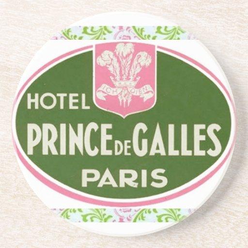 Príncipe DE GALLES Coaster Posavaso Para Bebida