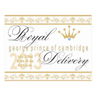 Príncipe de George de la postal del recuerdo de Ca