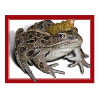 Príncipe de la rana (añada su texto) postales