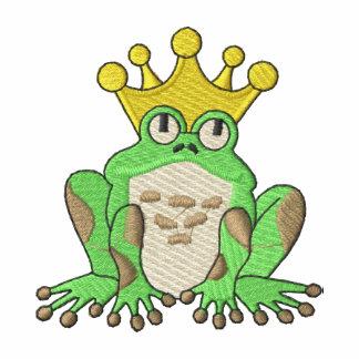 Príncipe de la rana camiseta polo bordada