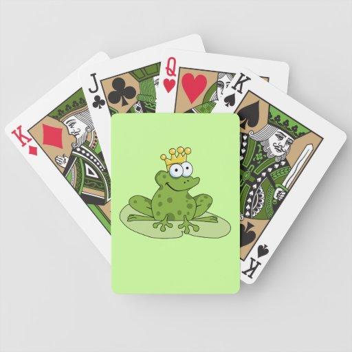 Príncipe de la rana cartas de juego