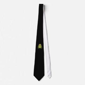 Príncipe de la rana del cuento de hadas con la corbatas personalizadas