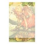 Príncipe de la rana del vintage; Princesa y su ref Papeleria