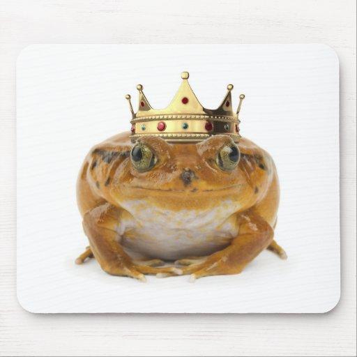 Príncipe de la rana - frente mouse pad
