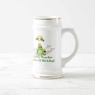 Príncipe de la rana jarra de cerveza