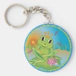 Príncipe de la rana llavero