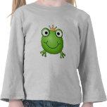 Príncipe de la rana. Rana feliz Camiseta