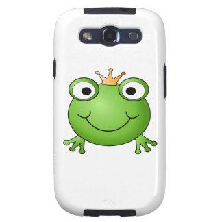 Príncipe de la rana. Rana feliz Galaxy S3 Funda