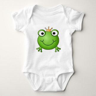 Príncipe de la rana. Rana feliz T-shirts