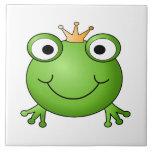 Príncipe de la rana. Rana feliz Tejas