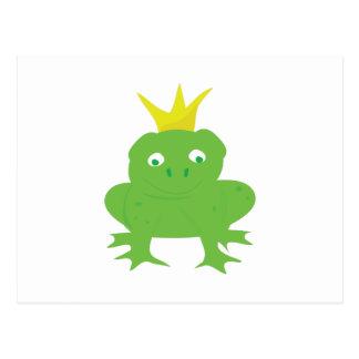 Príncipe de la rana tarjeta postal