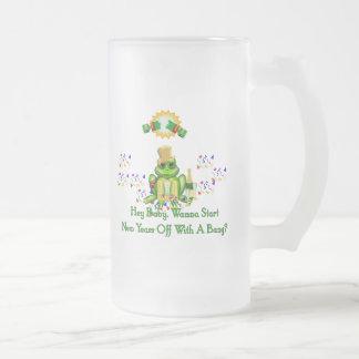Príncipe de la rana taza de cristal