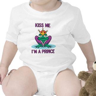 Príncipe de la rana trajes de bebé