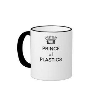 PRÍNCIPE de la taza de café de los PLÁSTICOS