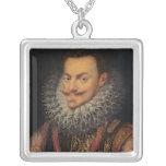 Príncipe de Philip Guillermo del naranja Colgante Cuadrado