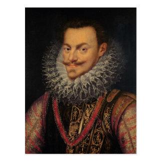 Príncipe de Philip Guillermo del naranja Tarjeta Postal