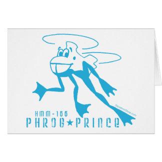 Príncipe de Phrog Tarjeta De Felicitación
