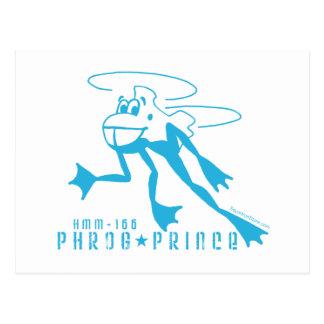 Príncipe de Phrog Tarjetas Postales