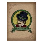 Príncipe de Steampunk, postal