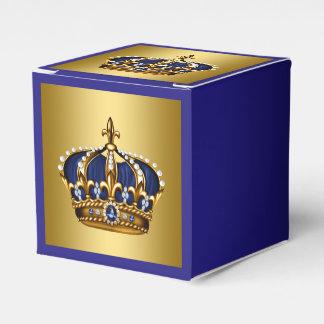 Príncipe del azul y del oro paquetes de regalo para bodas