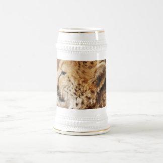 Príncipe del guepardo jarra de cerveza