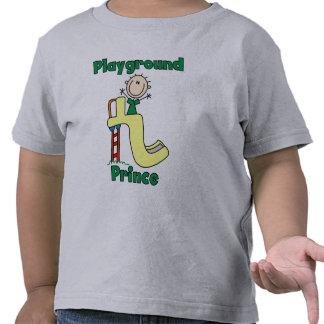 Príncipe del patio camiseta