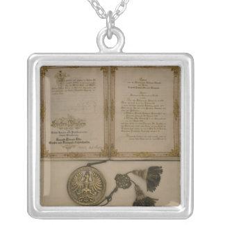 Príncipe Diploma Joyeria Personalizada