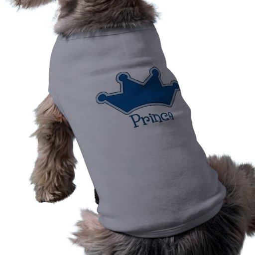 Príncipe Dog Tees Camisas De Mascota