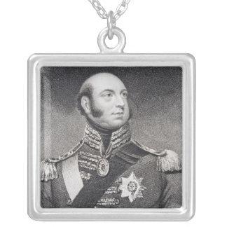 Príncipe Edward, duque de Kent y de Strathearn Pendiente Personalizado