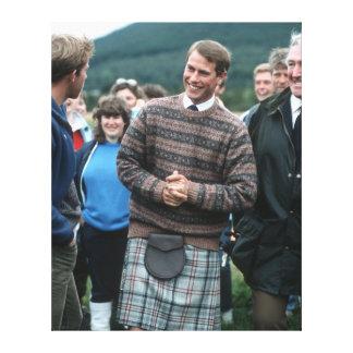 Príncipe Edward Escocia 1986 de HRH Impresiones En Lona