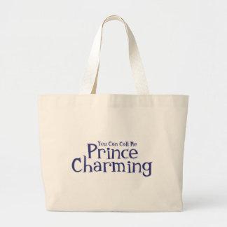 Príncipe el encantar bolsa tela grande