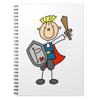 Príncipe el encantar con la espada cuaderno