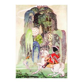Príncipe el encantar de Kay Nielsen de la bella du Lona Envuelta Para Galerías