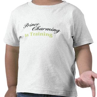 PRÍNCIPE el ENCANTAR EN camiseta de los niños del